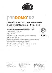 PANDOMO K 2