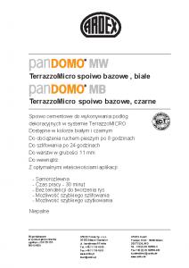 PANDOMO MW/MB