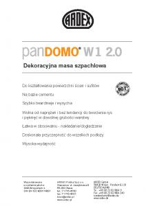 PANDOMO W1 2.0