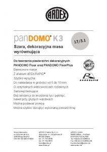 PANDOMO K3