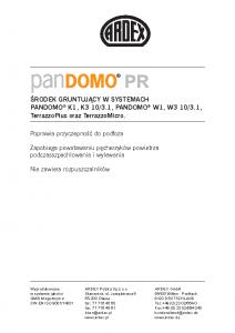 PANDOMO PR