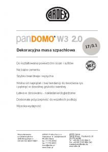 PANDOMO W3 2.0