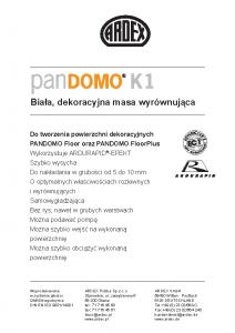 PANDOMO K1