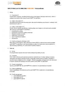 Specyfikacja techniczna panDOMO TerrazzoBasic