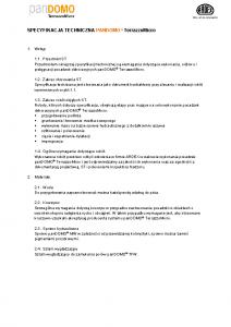Specyfikacja techniczna panDOMO TerrazzoMicro