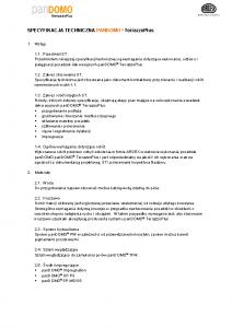 Specyfikacja techniczna panDOMO TerrazzoPlus